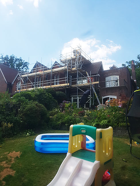 Saxton Scaffolding Service in Hampshire and West Sussex